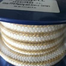 供应上海地区优质芳纶角线白四氟盘根,上海芳纶角线白四氟盘根,上海盘根图片
