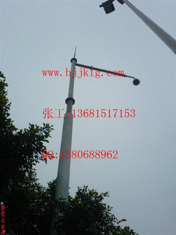 供应安装球机支架监控立杆