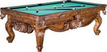 供应台球桌力欧雕刻台球桌