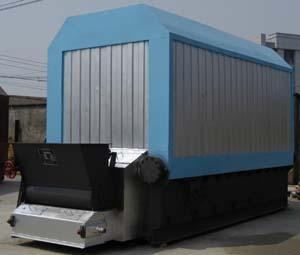 SZL系列卧式快装链条炉排蒸汽锅图片