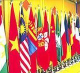 供应会议礼堂旗制作北京厂家