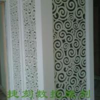 供应J96雕花板/PVC镂空板/背景墙隔断