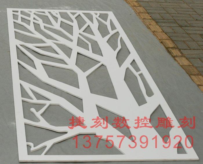 供应J93雕花板/PVC镂空板/背景墙隔断