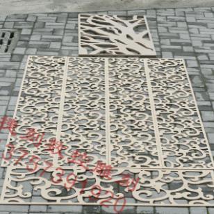 J75雕花板/镂空板/背景墙隔断图片