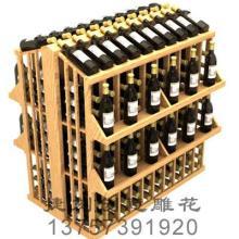 供应5J红酒木箱/红酒木展架/订制批发