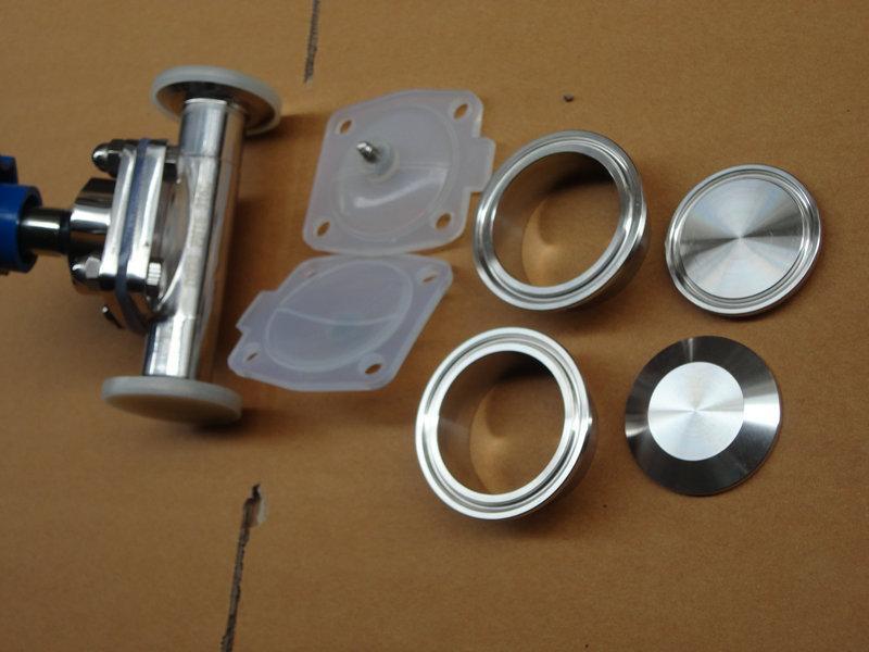 供应卫生级隔膜阀哪里取便宜,厂家直销卫生级隔膜阀
