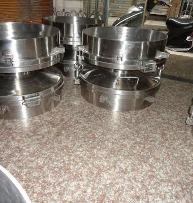 不锈钢常压人孔图片/不锈钢常压人孔样板图 (1)
