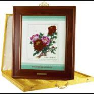 牡丹珍邮瓷板画图片