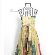 雪纺裙图片