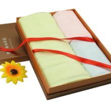 供应竹纤维浴巾毛巾套装礼盒批发订做