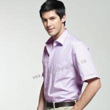供应男式衬衫/短袖衬衫/亚码时尚衬衫