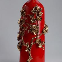 供应工艺花瓶家具花插摆设 心形花插,精品花瓶,陶瓷工艺花瓶花插