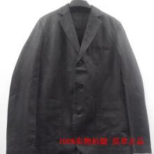 供应原单正品阿玛尼西服男装黑色单排扣
