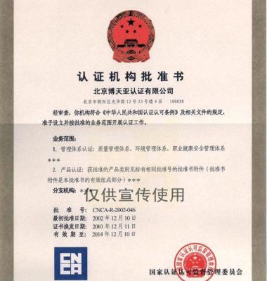 质量管理体系认证图片/质量管理体系认证样板图 (1)