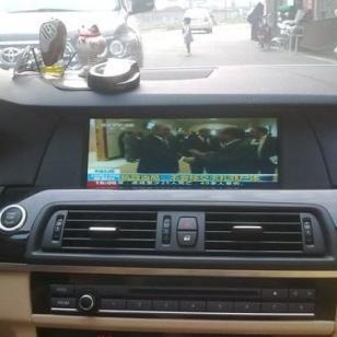 广州宝马523加装GPS导航图片