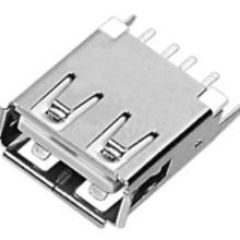 供应USB母座180度直插直脚AF-018