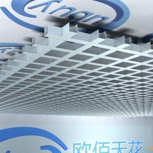广东铝格栅厂图片