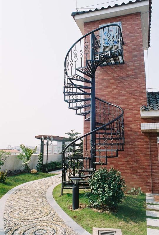 转楼梯_旋转楼梯供货商_供应铁艺旋转楼梯_旋