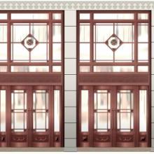 河南玻璃铜门定做【地弹簧铜门】 KTV铜门 医院铜门图片
