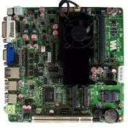 凌动2700异步双显DC电源工控主板图片