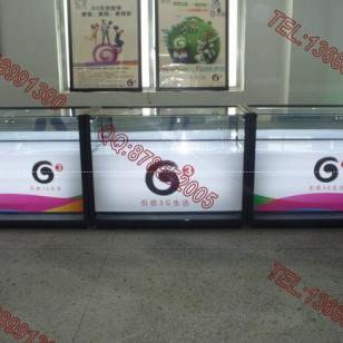 手机柜台展厅G3手机展柜图片