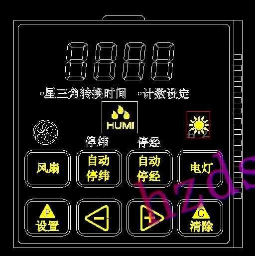 供应纺织机控制器液晶屏图片