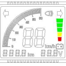 供应电动车仪表LCD液晶显示屏零售