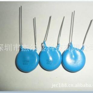 高压瓷介电容器103/6KV图片