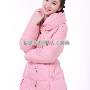 冬装女装加厚棉衣羽绒服图片