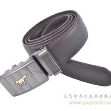供应自动扣腰带 自动扣男士真皮腰带 商务休闲自动扣腰带
