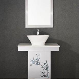 不锈钢浴室柜常州康太2011图片