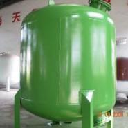 碳钢衬胶防腐砂滤罐图片
