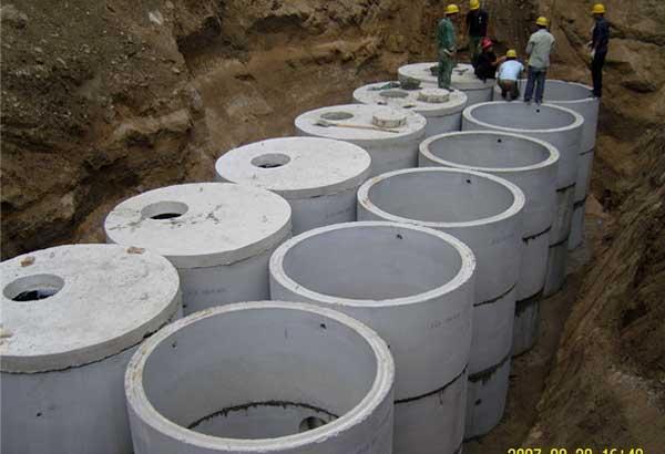 哈尔滨组装式钢筋混凝土化粪池图片