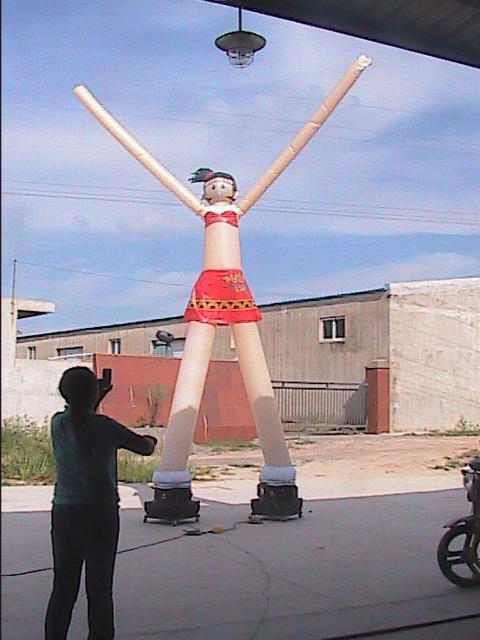 供应空中舞星气模,小丑舞星气模生产,卡通舞星气模制作