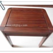 黑胡桃梳妆凳子现代简约实木凳子图片