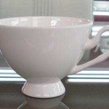 供应骨质瓷白胎咖啡具芒果杯,唐山骨瓷厂家批发,正品唐山骨瓷咖啡具杯碟