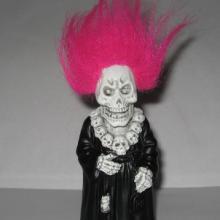 供应万圣节鬼节整人玩具,搪胶骷髅人,搪胶恐怖整人面具,搪胶整人玩批发