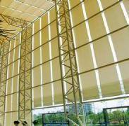 北京办公卷帘定做铝合金横百叶窗帘图片