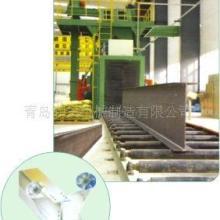 大量供应钢管除氧化皮机.圆钢抛丸设备.H钢除锈机.角铁表面抛光机图片