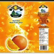 广东最健全的果汁饮料标签印刷商图片