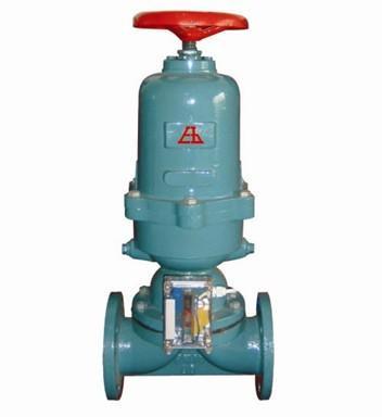 供应气动衬胶隔膜阀气动隔膜阀常闭式气动衬胶隔膜阀图片