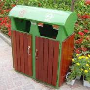 长沙防腐木垃圾桶批发图片