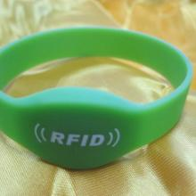 供应硅胶手腕带RFID手表卡图片
