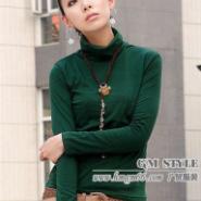 新款冬装打底衫批发便宜针织衫批发韩版打底长款T恤批发女装长袖T恤