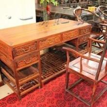 家居 红木家具 古典家具 1.6米办公桌