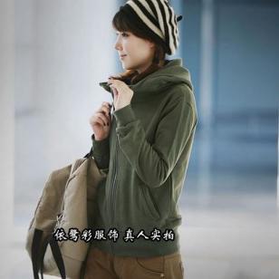 便宜女装卫衣外套拉链韩版情侣装图片