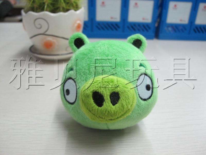 挂件 愤怒的小鸟/供应愤怒的小鸟偷蛋猪挂件猪头挂件图片