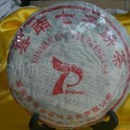 云南普洱茶2000年思茅古普七子饼茶图片