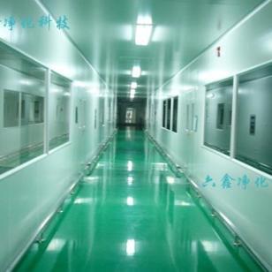 广州无尘喷涂房净化装修公司图片