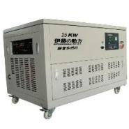 25kw双燃料发电机静音发电机组图片